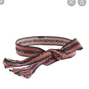 🌞3/$20 J.Crew Woven Sash Belt M/L